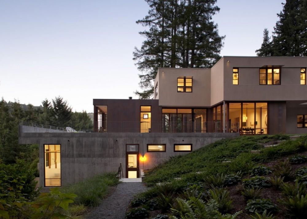 แบบบ้านกล่องทรงเหลี่ยม