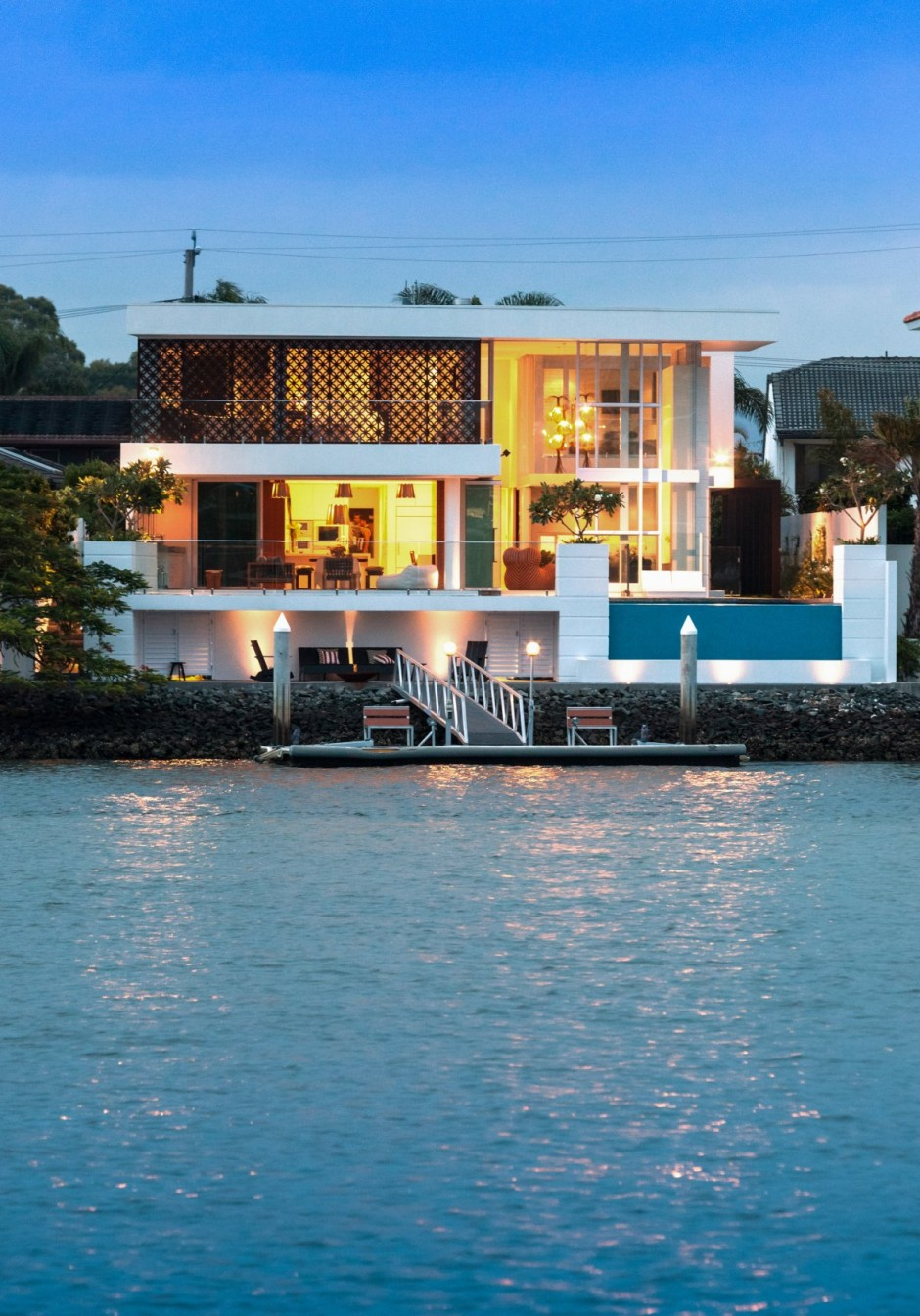 ตัวอย่างบ้านสวยสไตล์รีสอร์ท