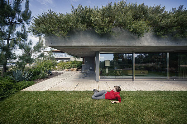 Casa-La-Atalaya-by-Alberto-Kalach-lush-green-terrace