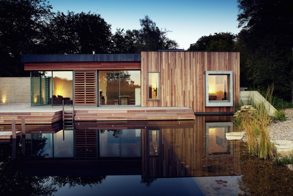 ตัวอย่างบ้านไม้ชั้นเดียว
