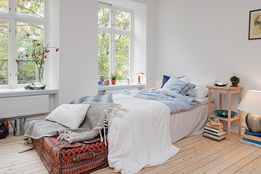 bedroom-Swedish-apartment