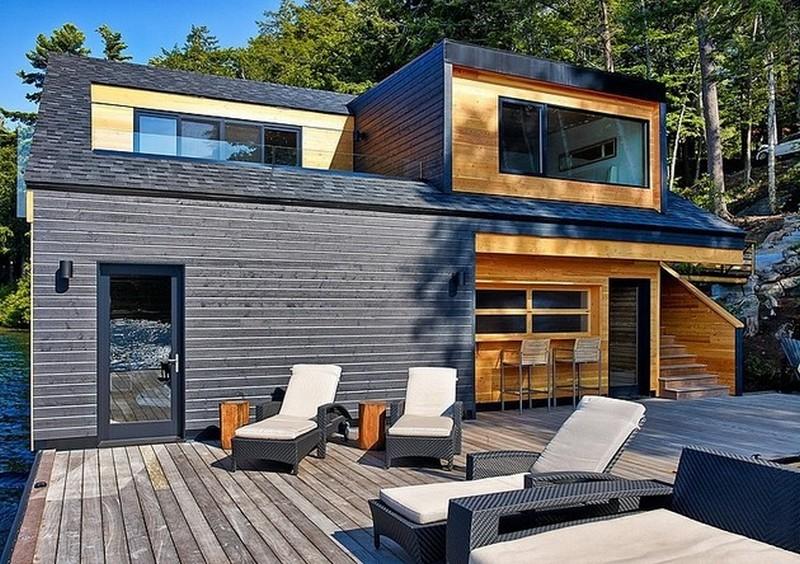 แบบบ้านบนน้ำ