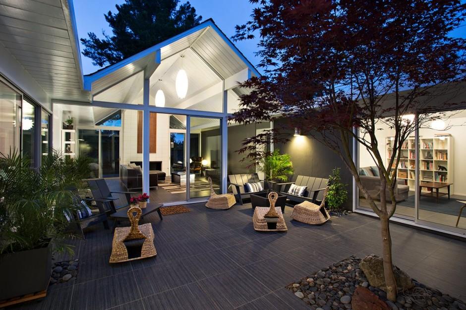 แบบบสวนข้างบ้าน