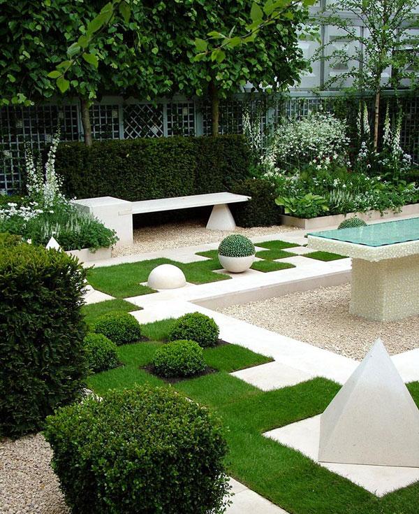 แบบสวนข้างบ้าน