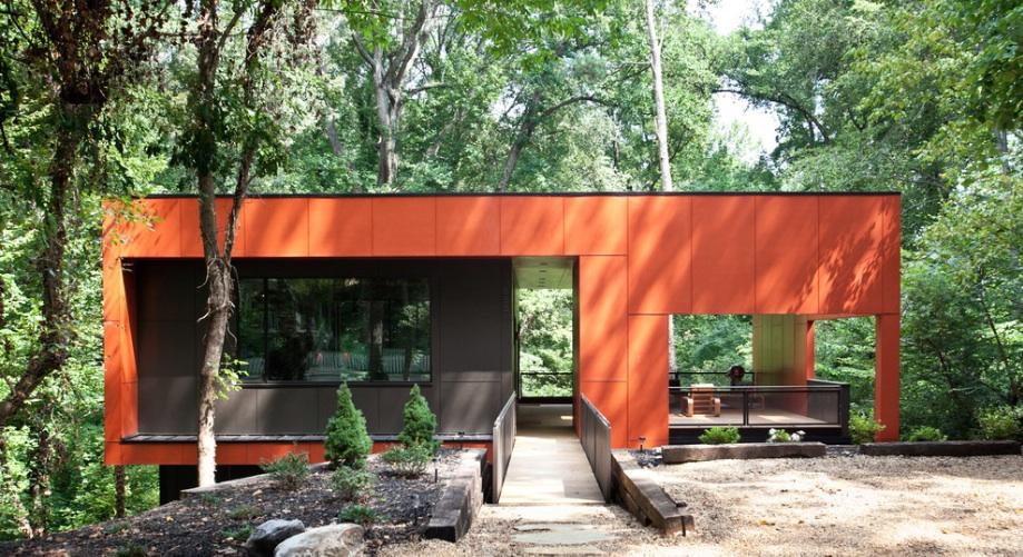 orange-modern-home
