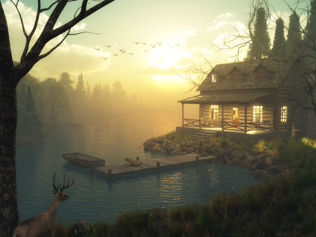 House Lake Forest by Hannibal