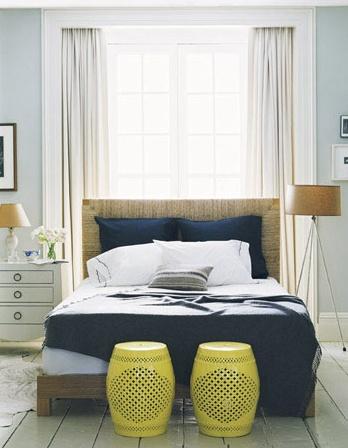 ตกแต่งห้องนอนหันหัวเตียงนอนไปทางแสงสว่างสวยๆ