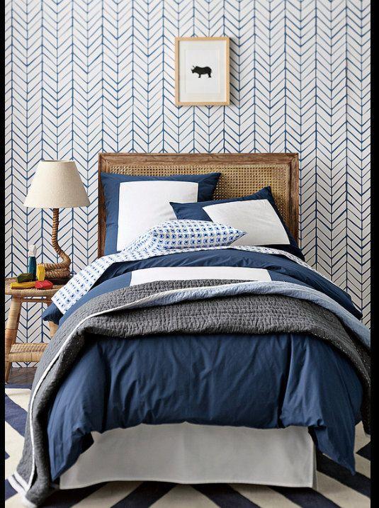 ตกแต่งห้องนอนสวยๆด้วย wallpaper แนวๆ