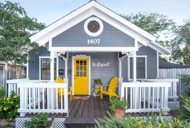 แบบบ้านหลังเล็กๆชั้นเดียว ออกแบบหลังคาหน้าจั่ว บ้าน แบบ