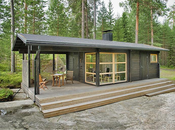 บ้านไม้หลังเล็กๆ