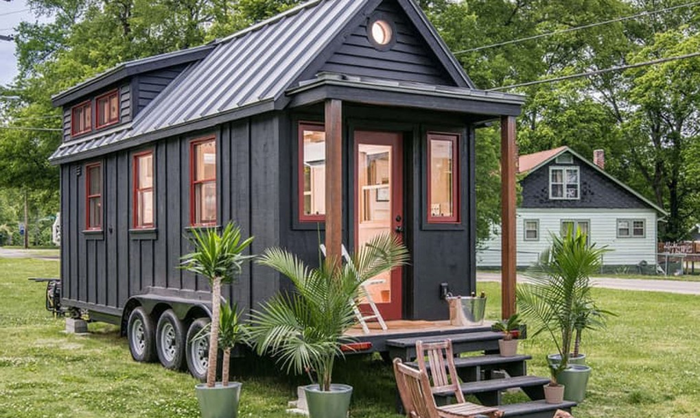 Tiny House บ้านโมบายหลังเล็กๆ สำหรับทำบ้านสวน แบบบ้านและ