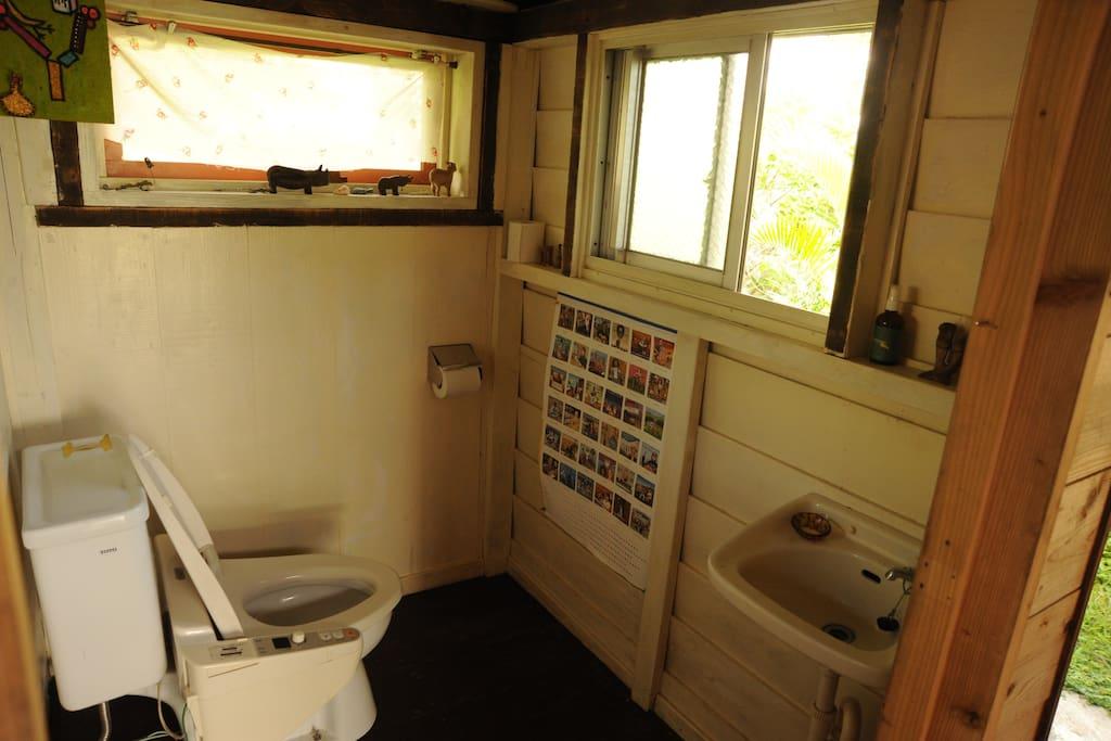 ส่วนห้องน้ำ