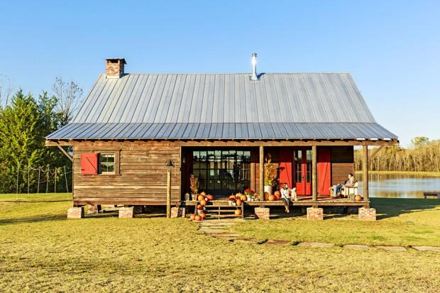 บ้านไม้สไตล์ครันทรี่