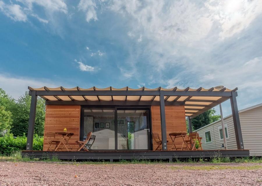 แบบบ้านไม้โครงเหล็ก