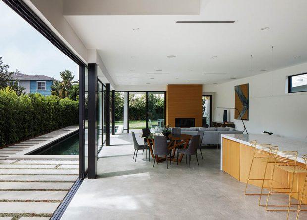 ห้องครัวและห้องนั่งเล่น